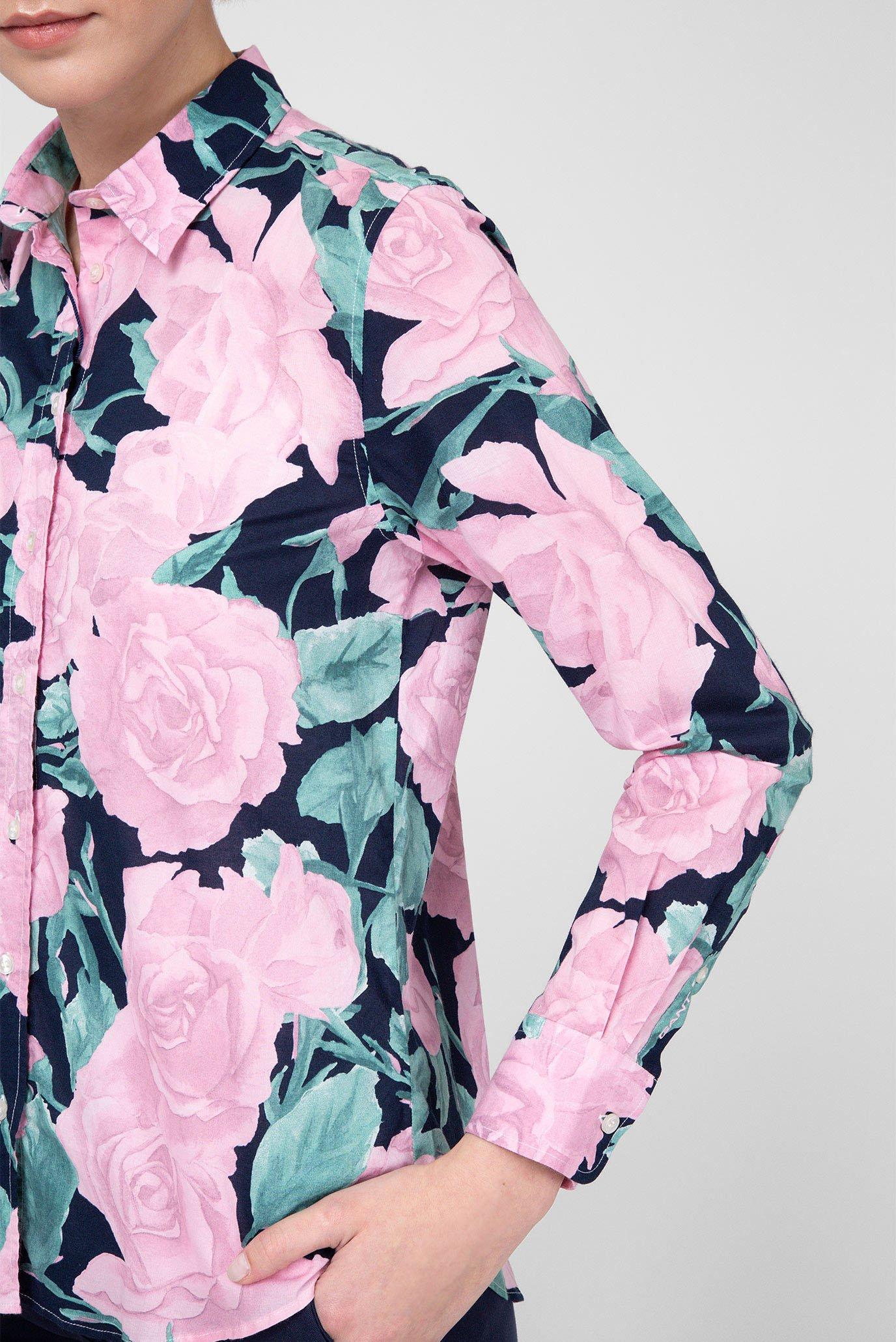 Женская рубашка с принтом Gant