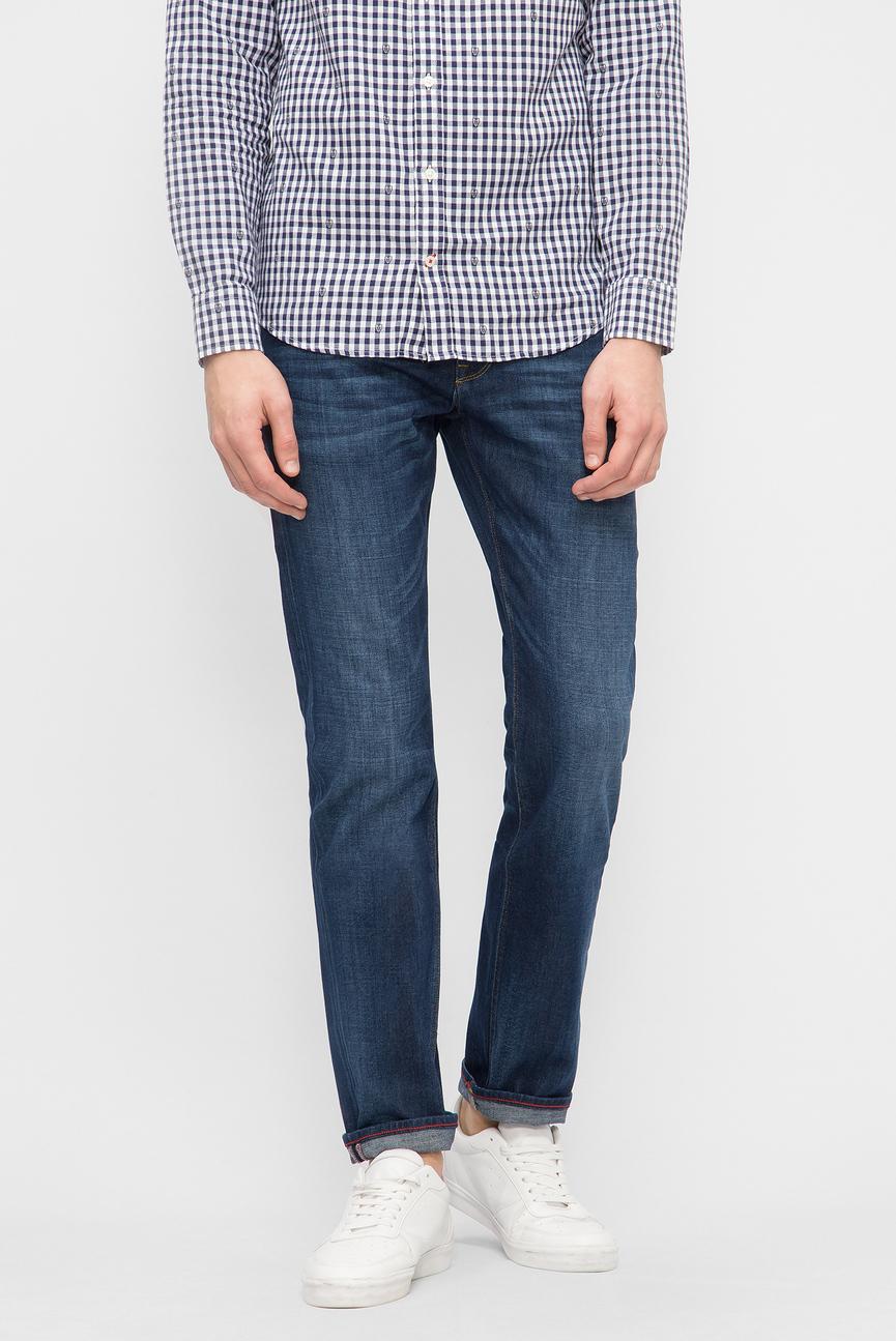 Мужские синие джинсы DENTON - STR MERIDIAN INDIGO