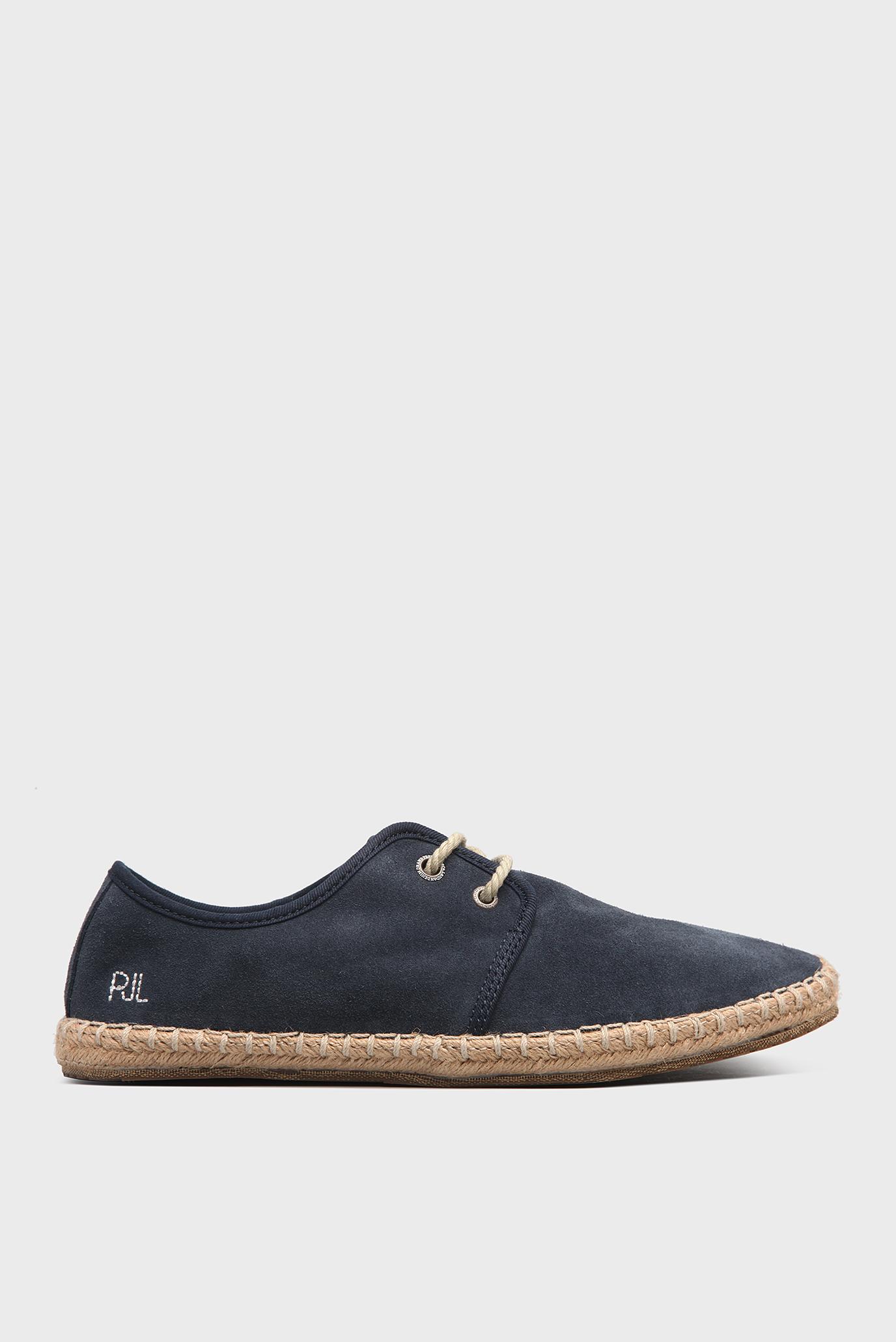 Купить Мужские синие замшевые эспадрильи  Pepe Jeans Pepe Jeans PMS10183 – Киев, Украина. Цены в интернет магазине MD Fashion