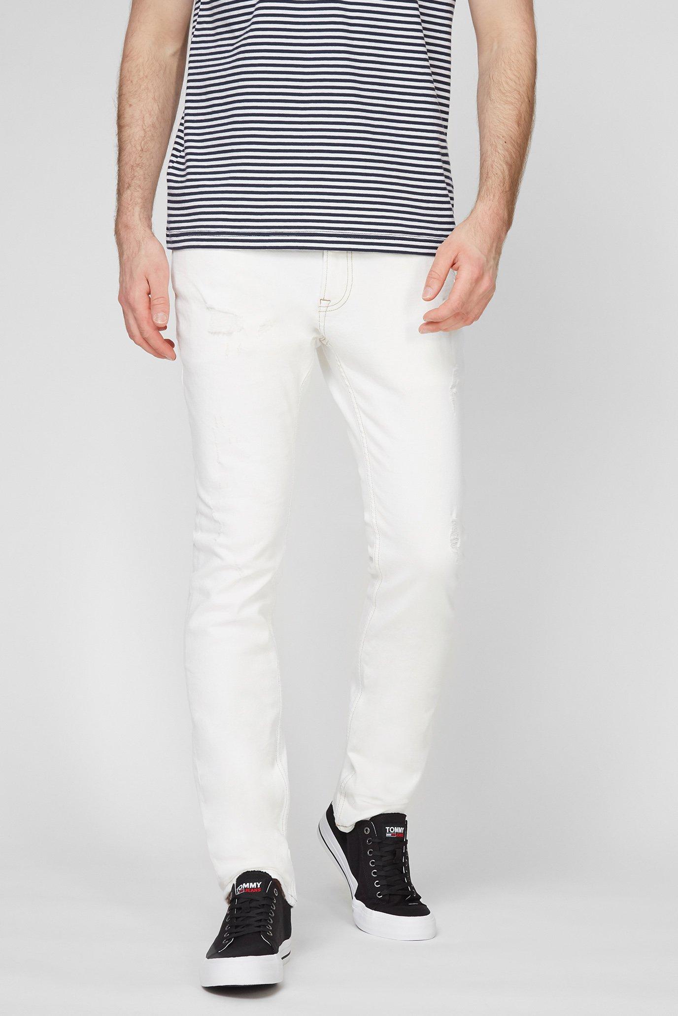 Мужские белые джинсы SCANTON SLIM OWCD 1