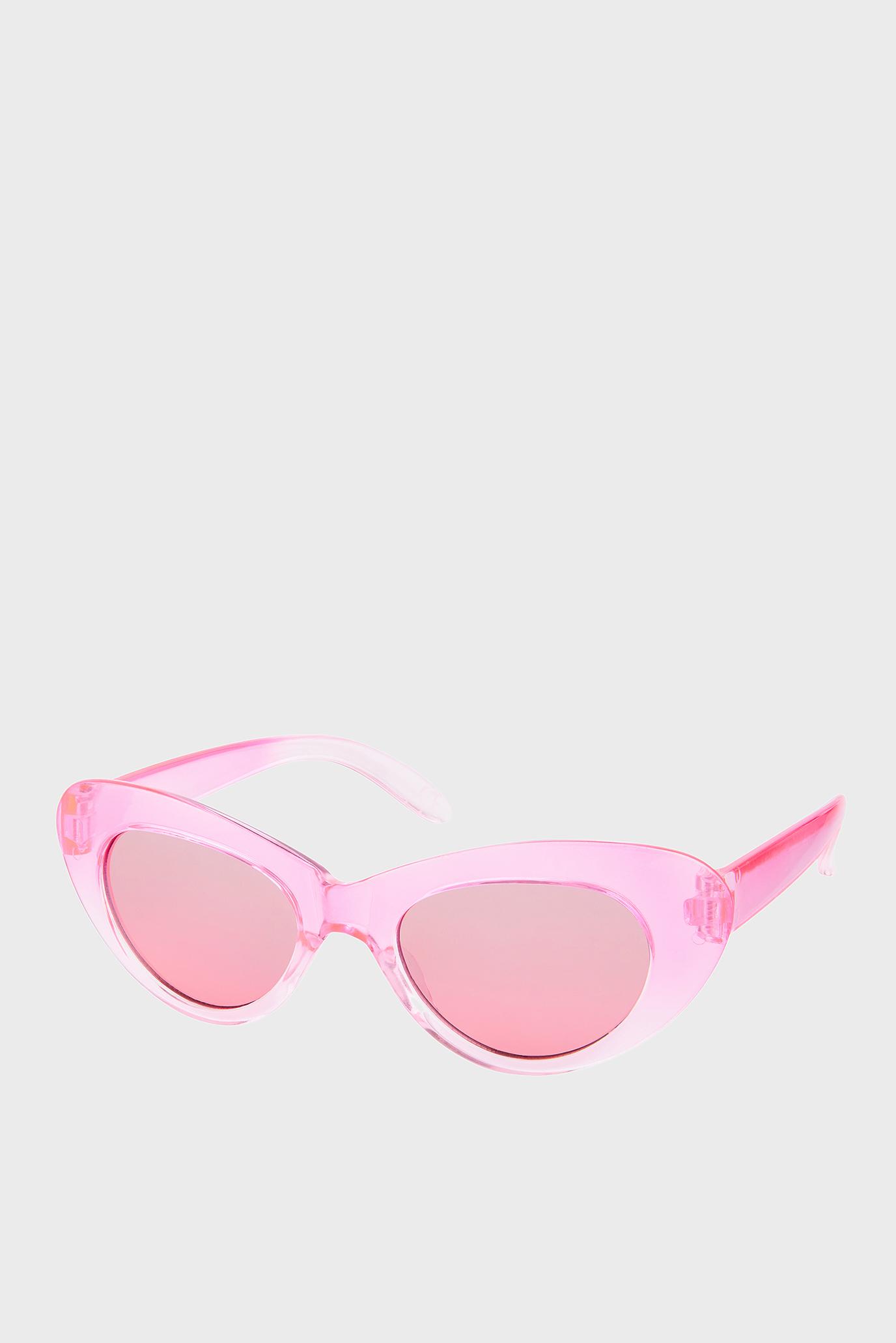 Рожеві сонцезахисні окуляри RETRO CATEYE SUNGLAS 1