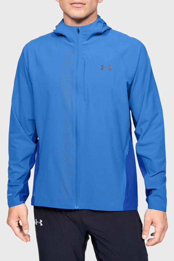 Мужская синяя ветровка Qualifier OutRun the STORM Jacket