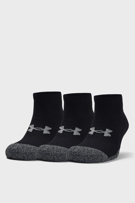 Черные носки (3 пары) UA Heatgear Locut