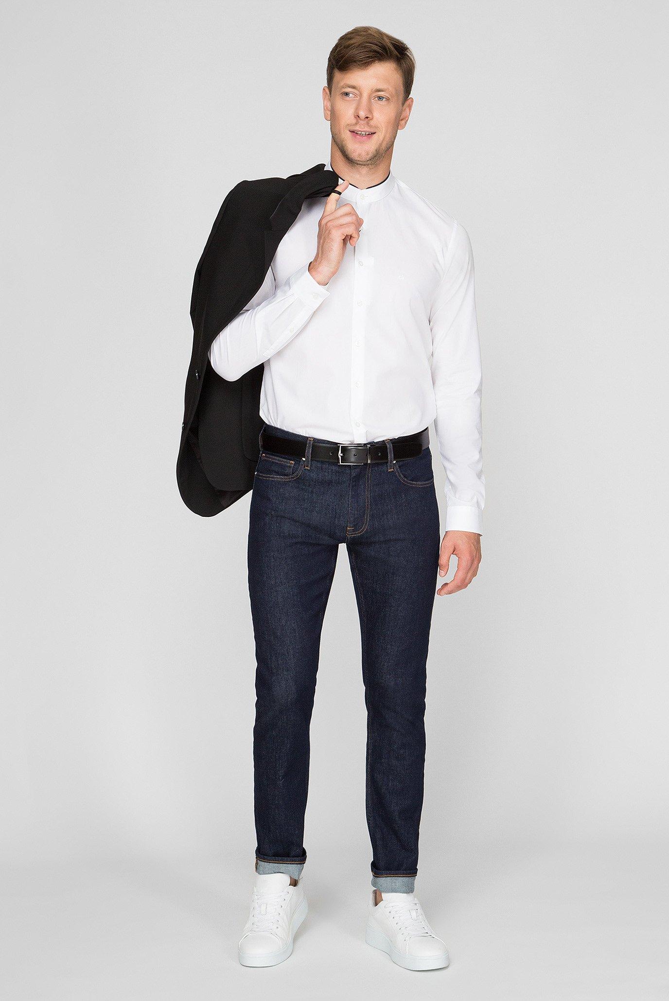 Мужские темно-синие джинсы Calvin Klein
