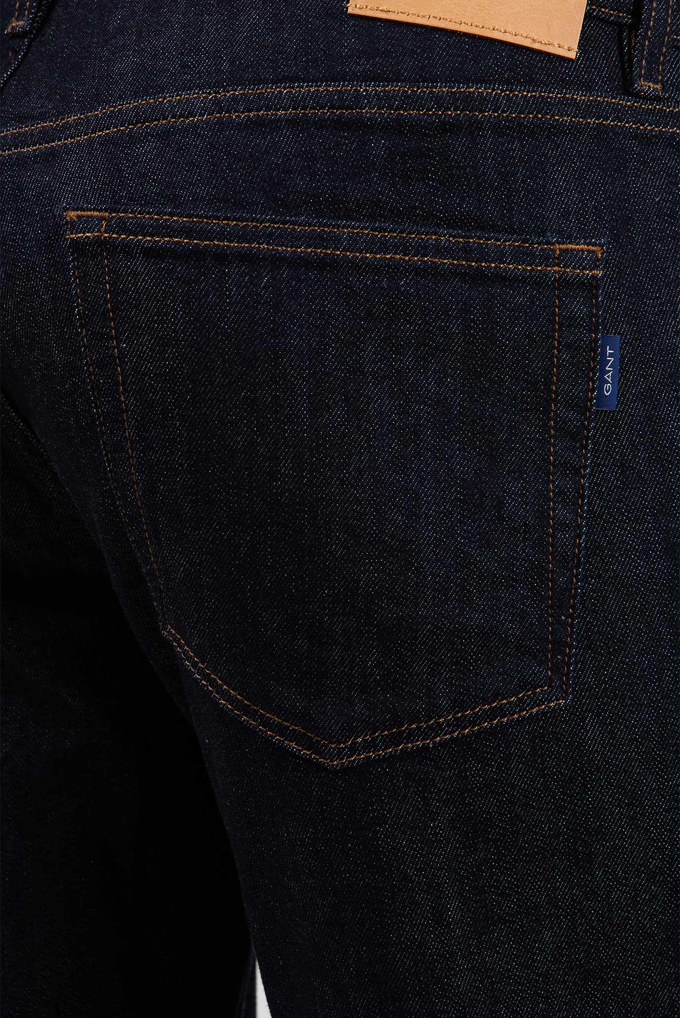 Купить Мужские темно-синие джинсы 410 Gant Gant 1315008 – Киев, Украина. Цены в интернет магазине MD Fashion