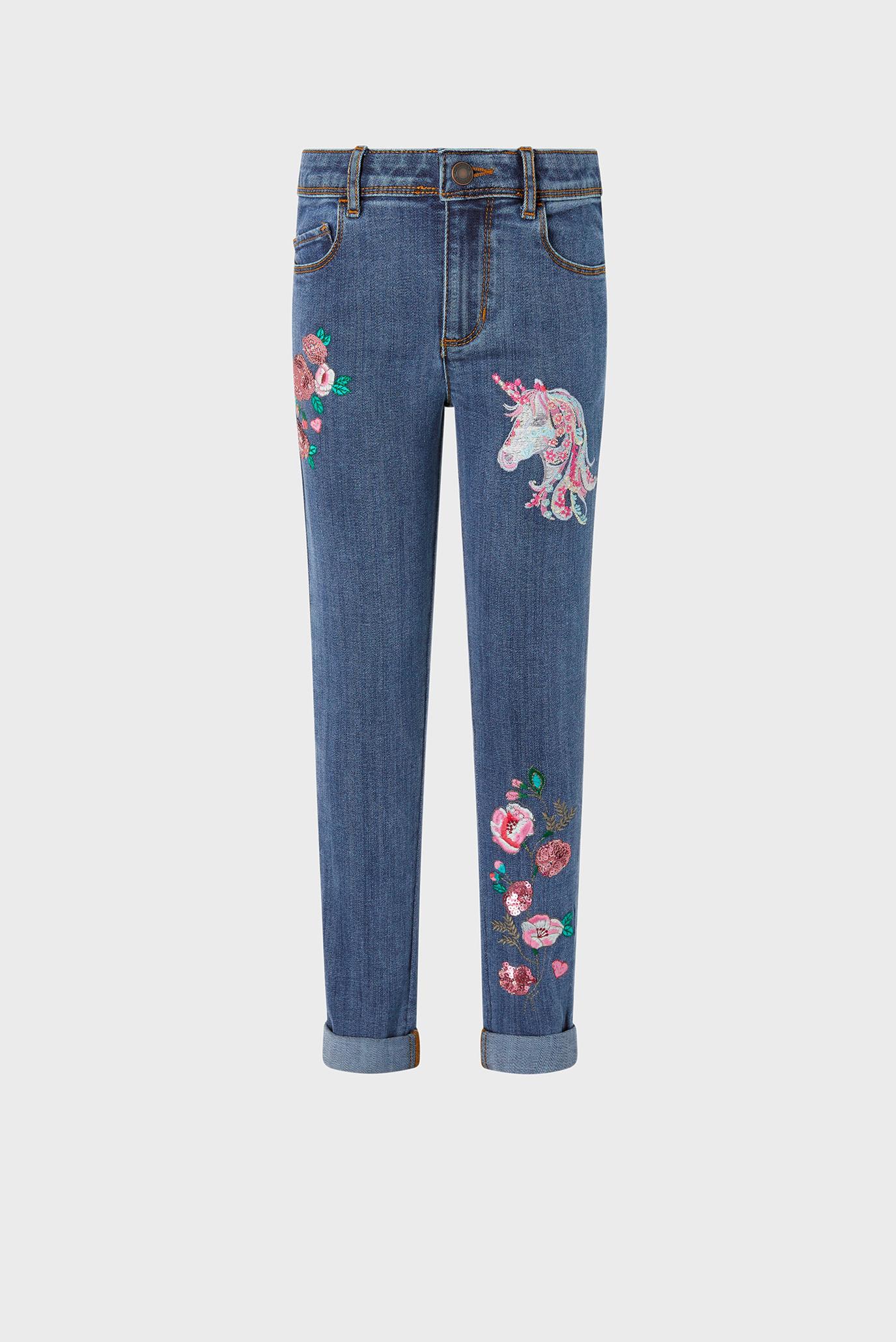Дитячі сині джинси ELIZA UNICORN JEAN 1