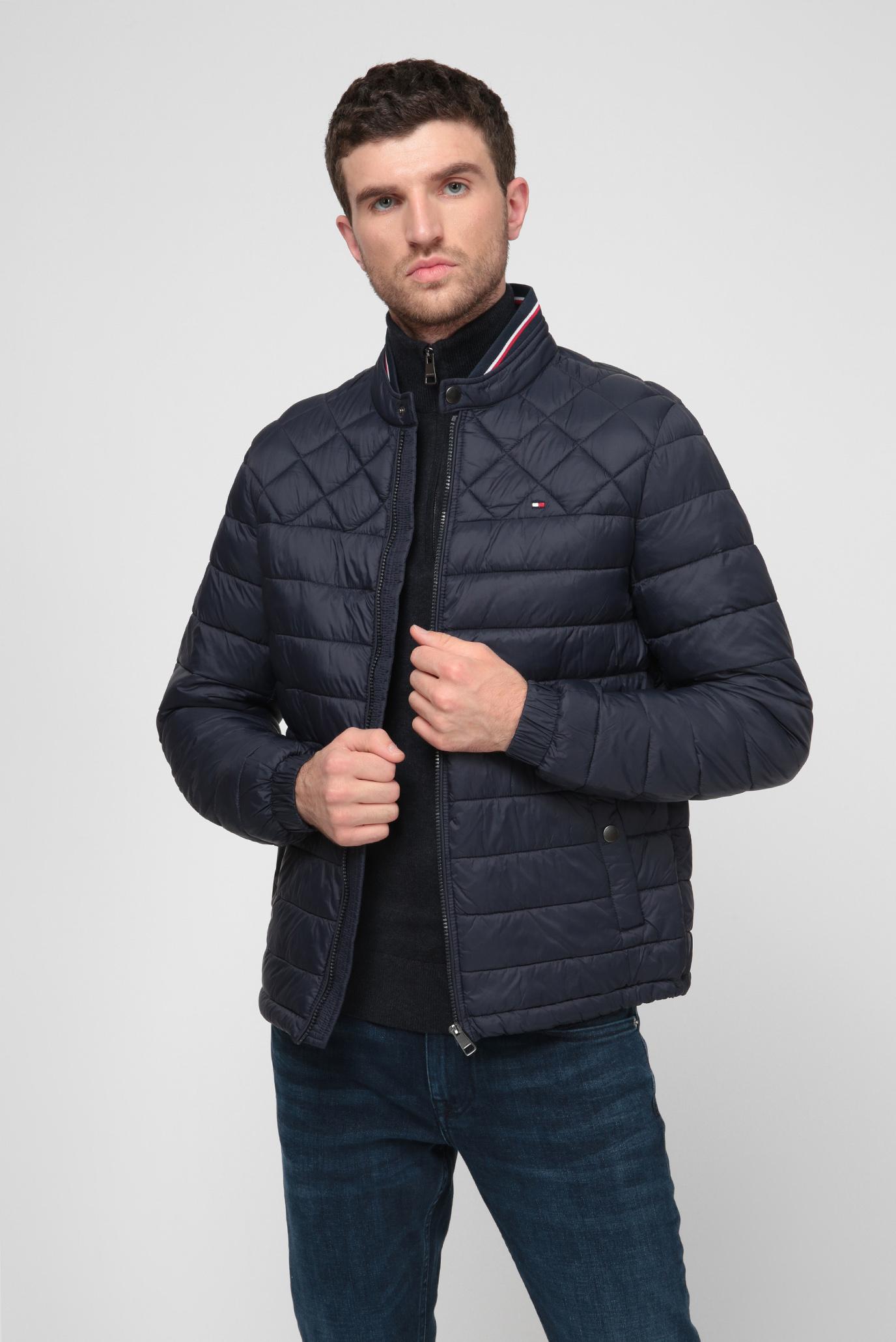 Мужская темно-синяя куртка LIGHT WEIGHT PADDED 1