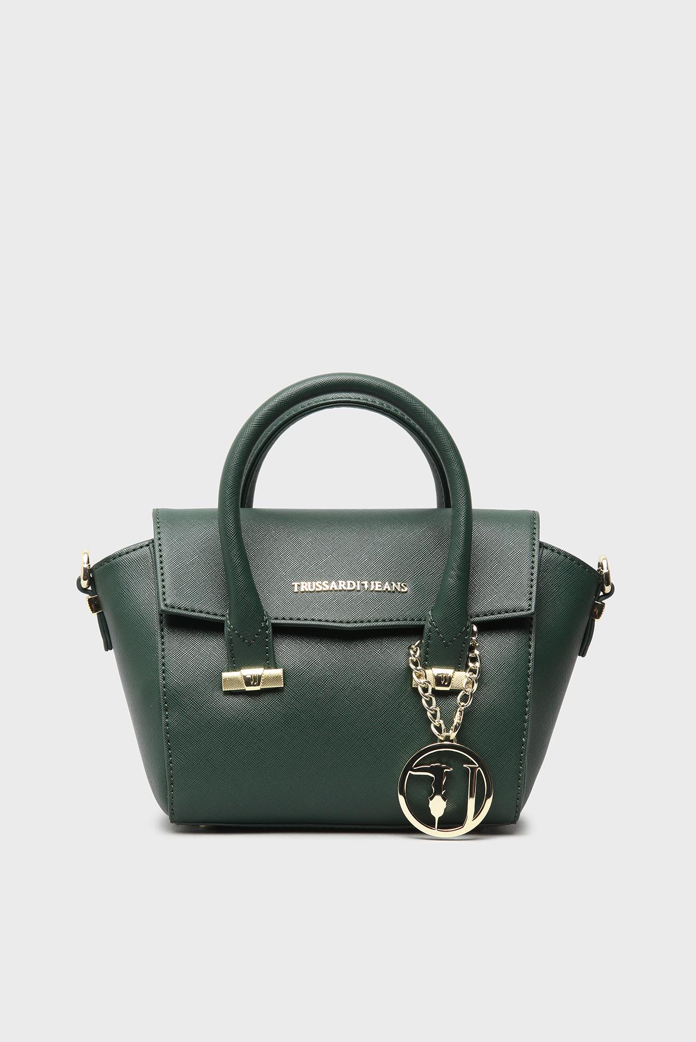 40e70e455416 Купить Женская зеленая сумка на плечо Trussardi Jeans Trussardi Jeans  1Y090122/75B00019 – Киев, Украина. Цены в ...