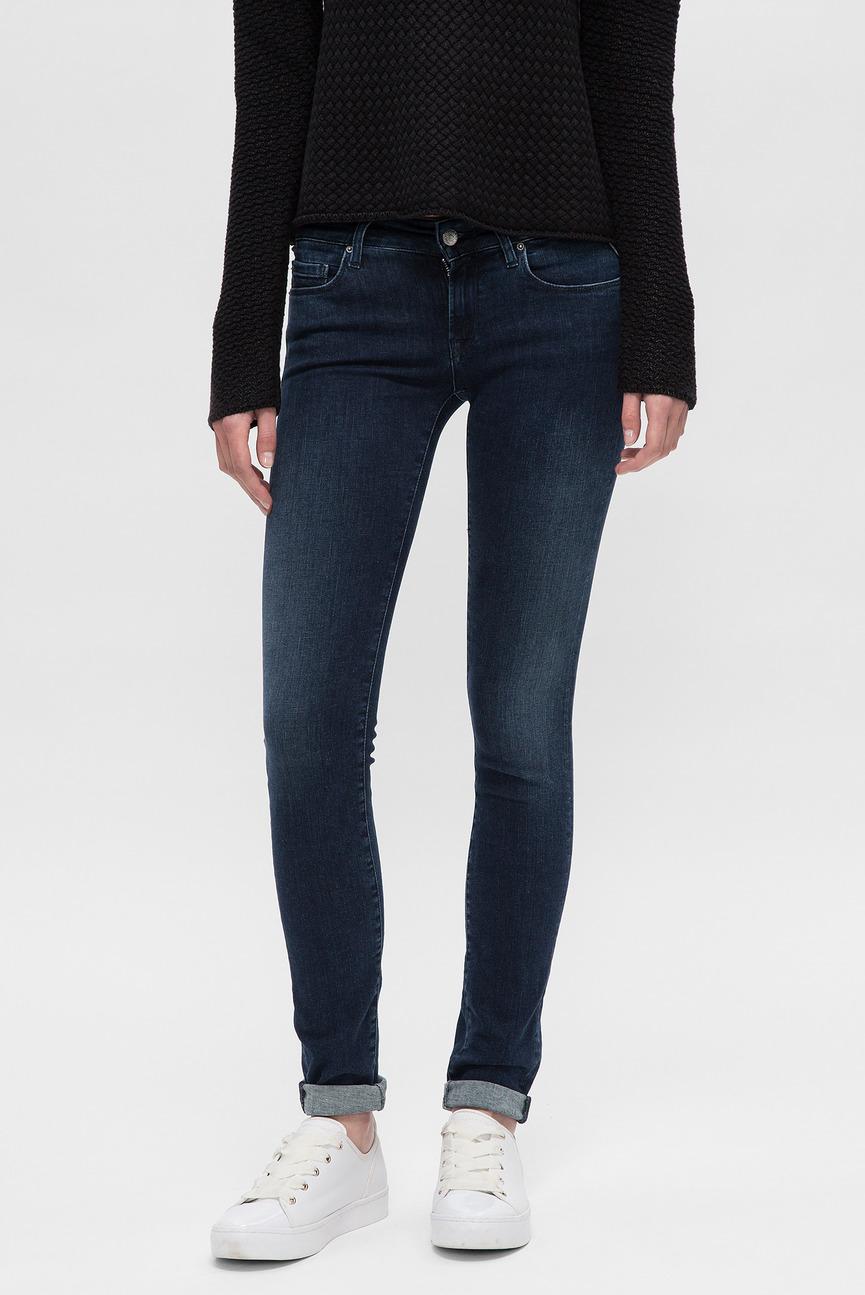 Женские темно-синие джинсы ROSE