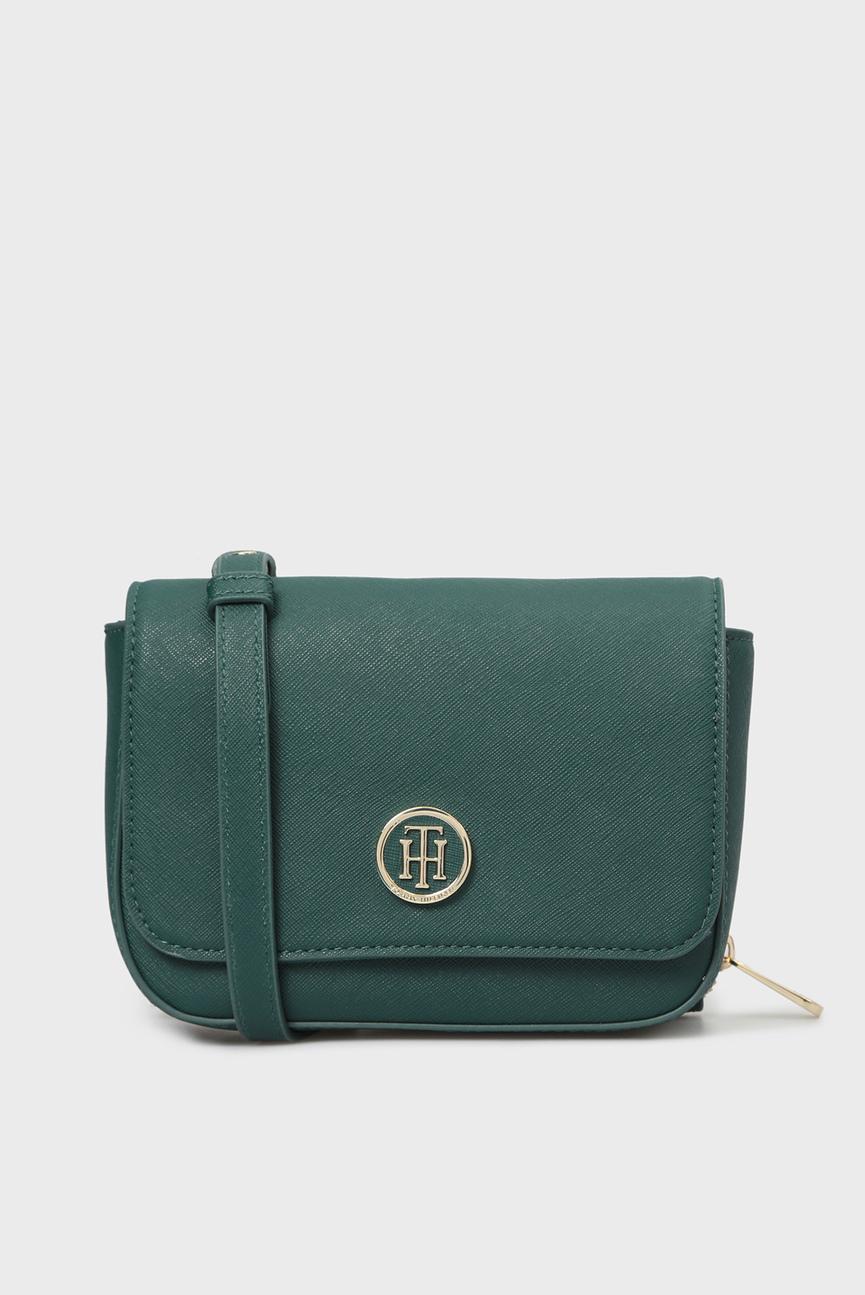 Женская зеленая сумка через плечо HONEY MINI CROSSOVER