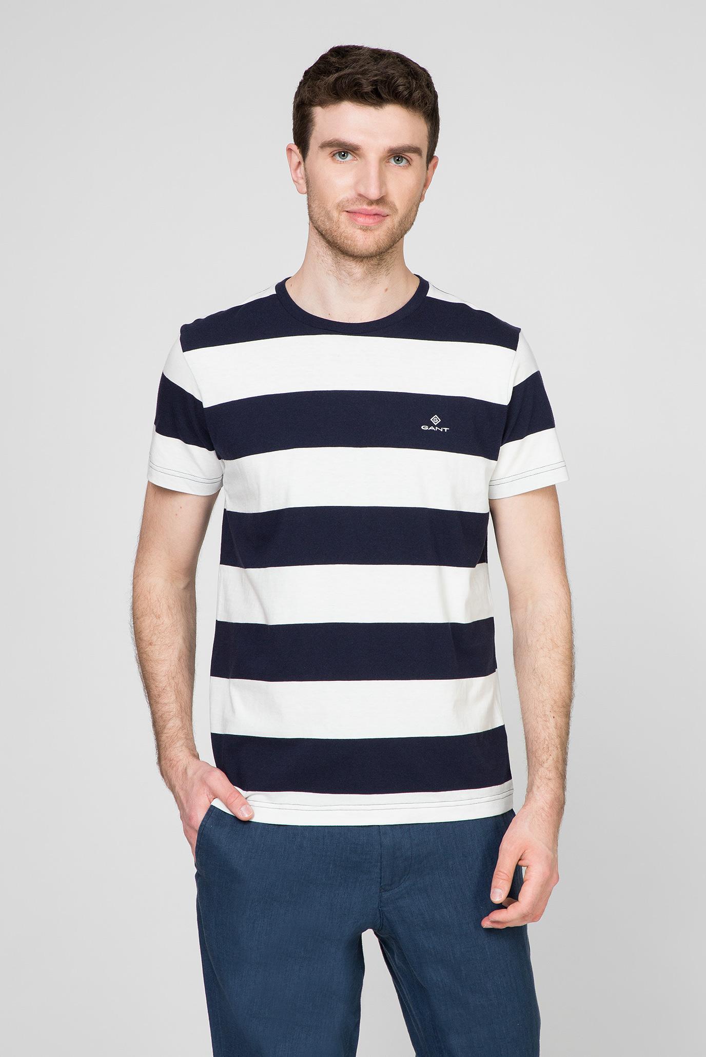 Мужская темно-синяя футболка SUNSET CLUB 1