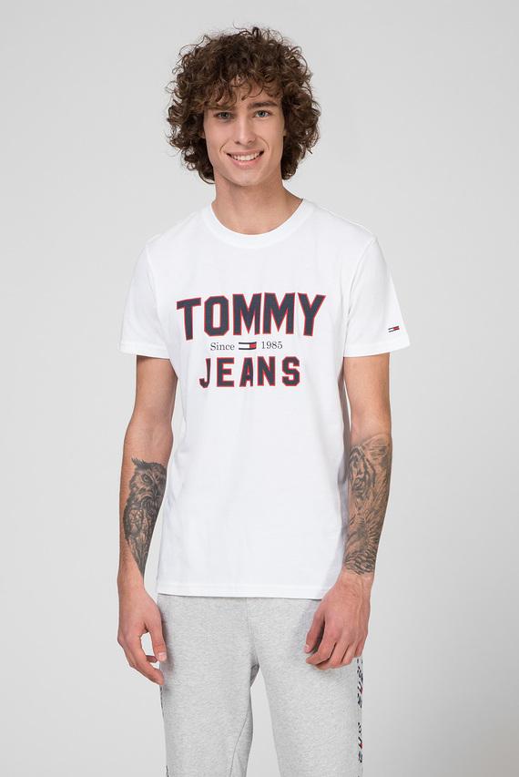 Мужская белая футболка TJM ESSENTIAL 1985 LOGO