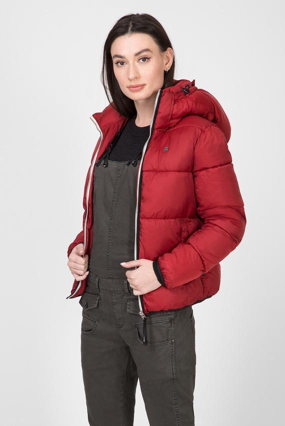 Женская бордовая куртка Meefic sundu