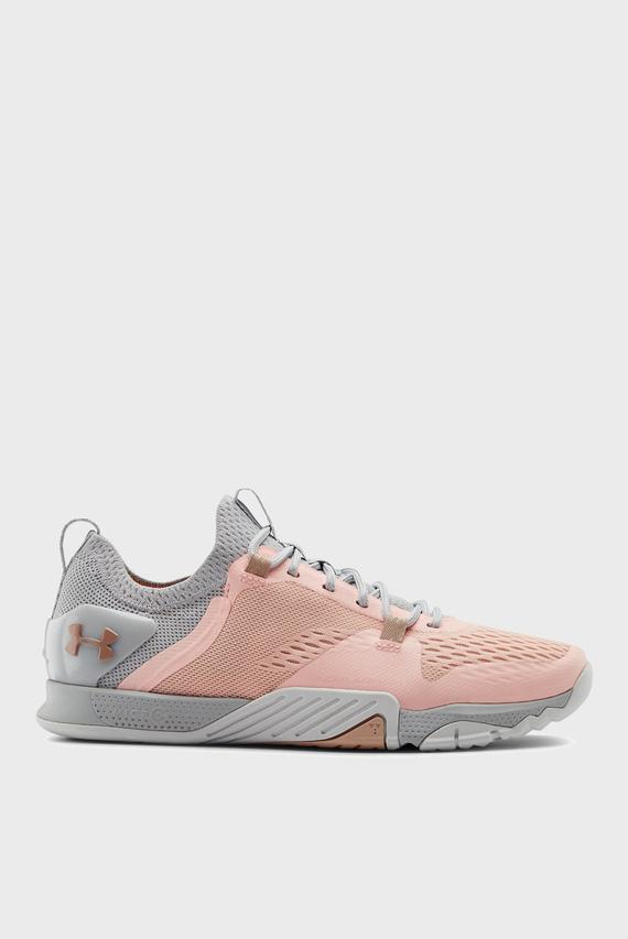 Жіночі рожеві кросівки UA W TriBase Reign 2-ORG