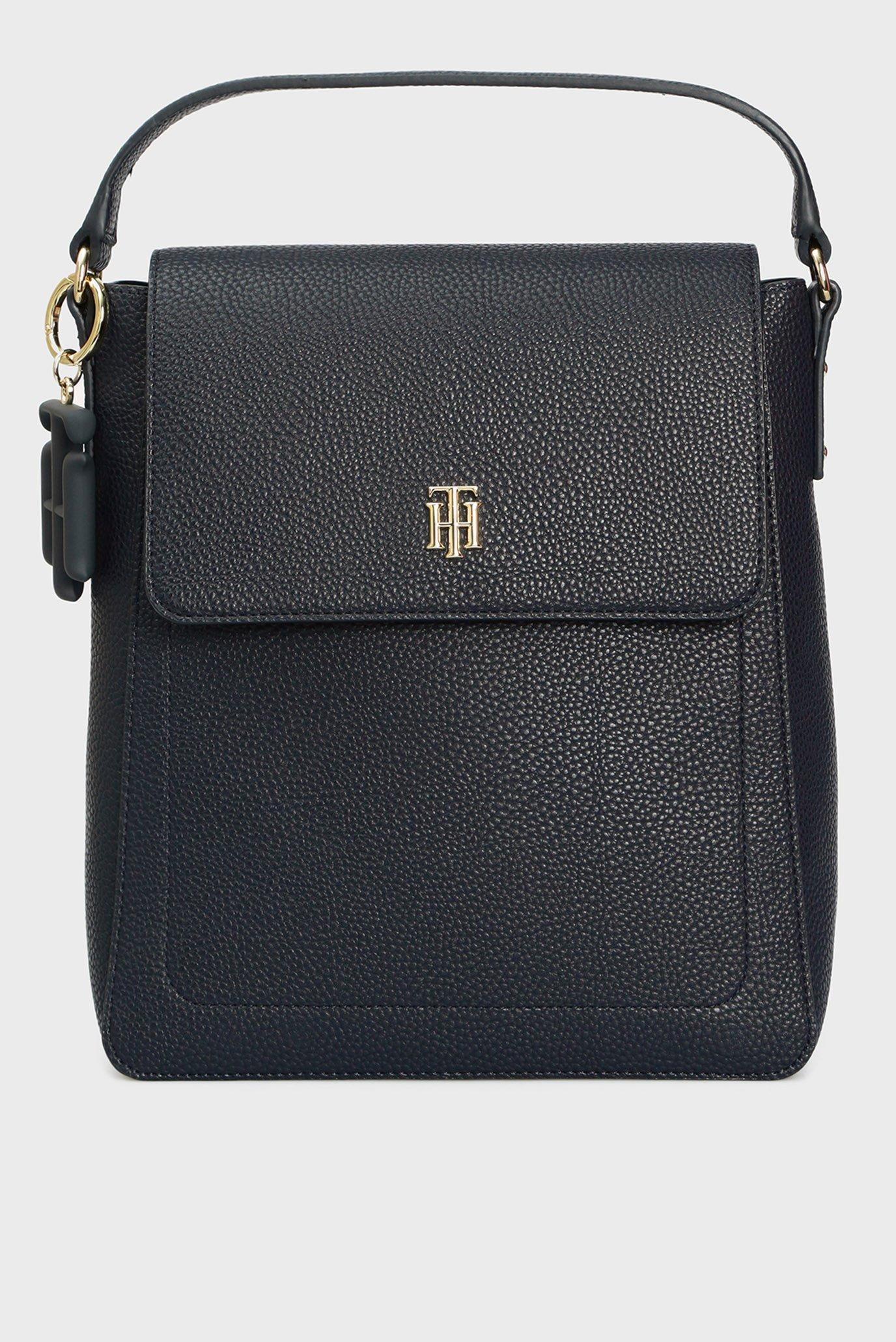 Женский темно-синий рюкзак TH SOFT 1