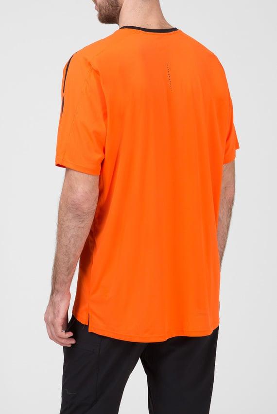Мужская оранжевая футболка UV LITE