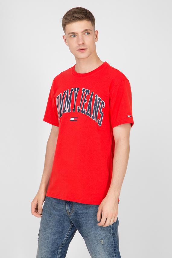 Мужская красная футболка TJM COLLEGIATE