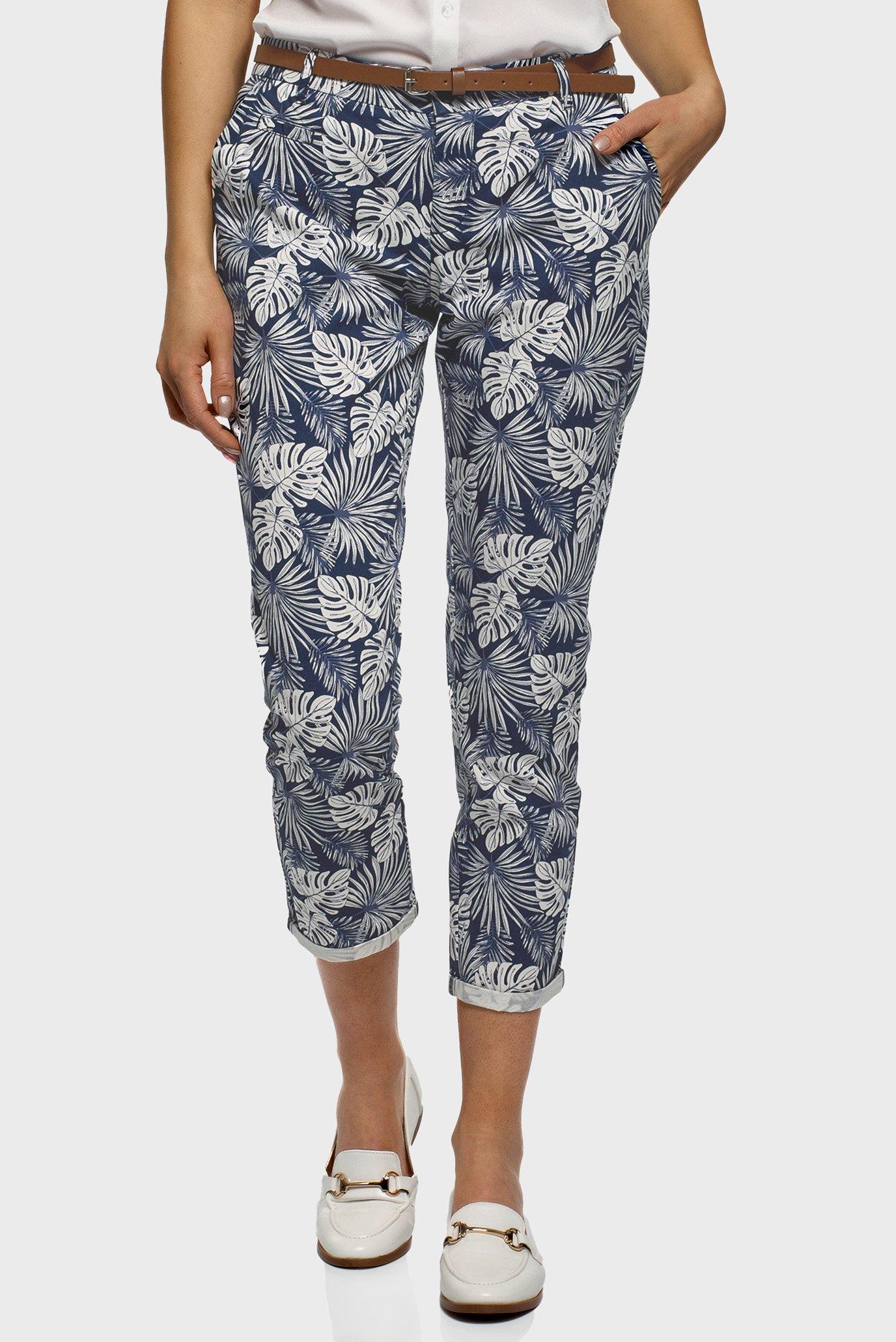 Жіночі брюки з візерунком 1