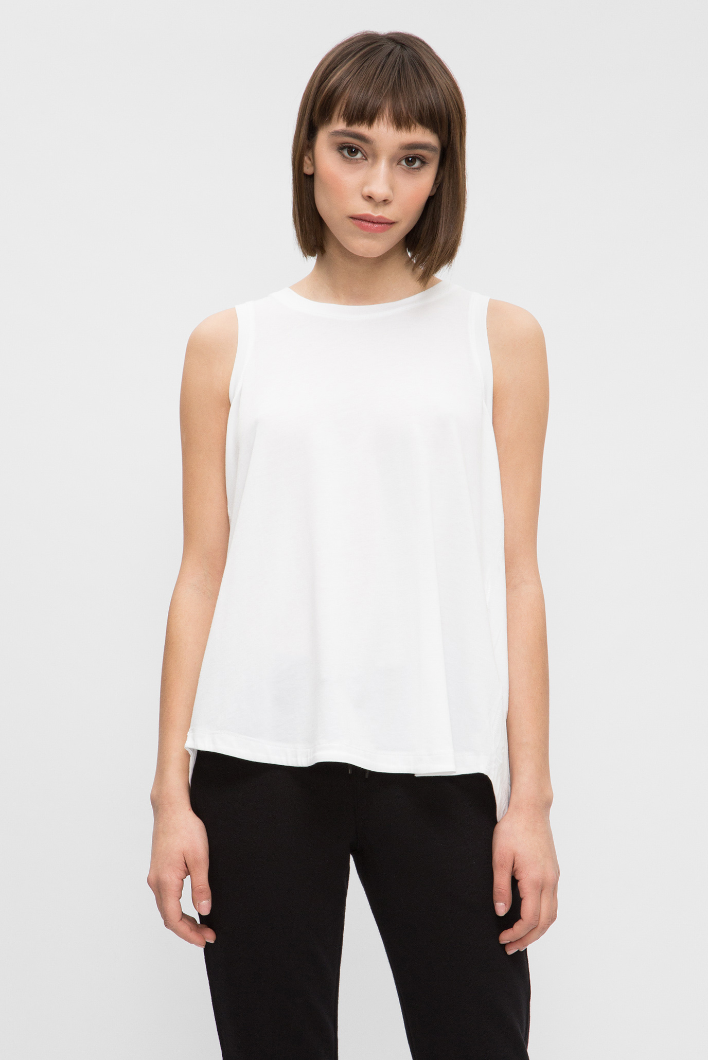 Купить Женская белая майка DKNY DKNY DP8T5241 – Киев, Украина. Цены в интернет  магазине MD Fashion a2790fc6848