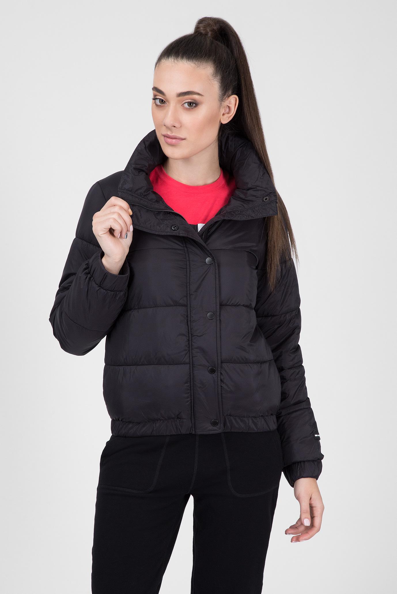 Купить Женская черная куртка POLYFIL DKNY DKNY DP8J8392 – Киев, Украина.  Цены в интернет магазине MD Fashion 2ef2a07d1a7