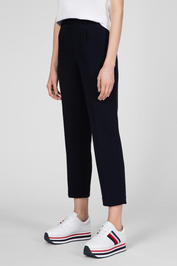 Женские темно-синие брюки TH ESSENTIAL JERSEY