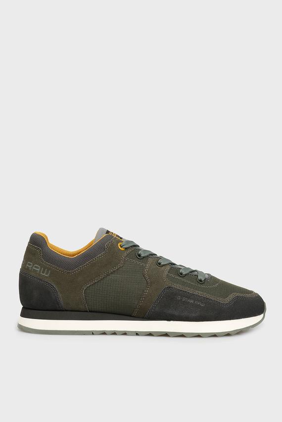 Мужские темно-зеленые кроссовки Calow II