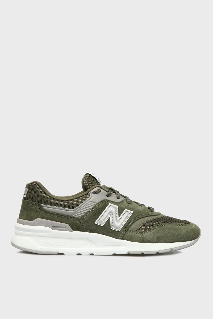Мужские зеленые кроссовки 997H