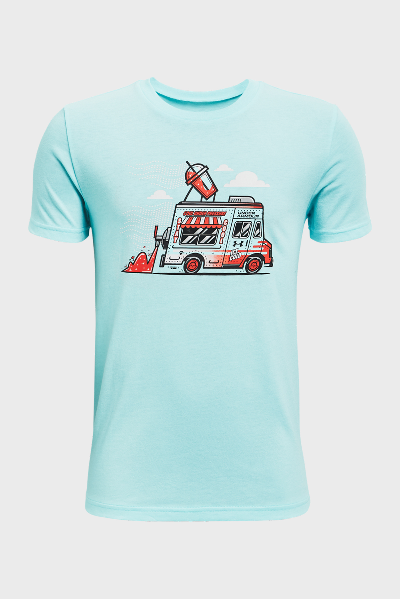 Детская мятная футболка UA SP ICE CREAM TRK SS 1