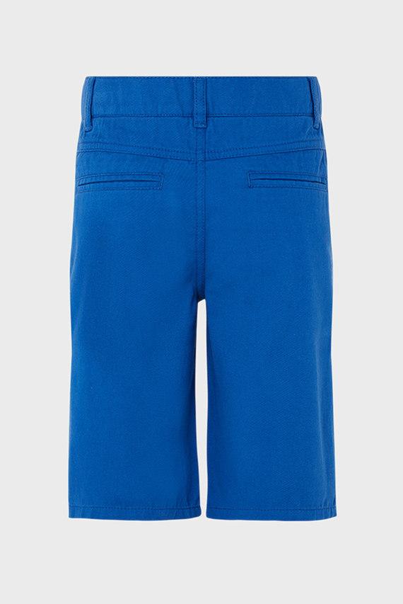 Детские голубые шорты Caleb Colbalt