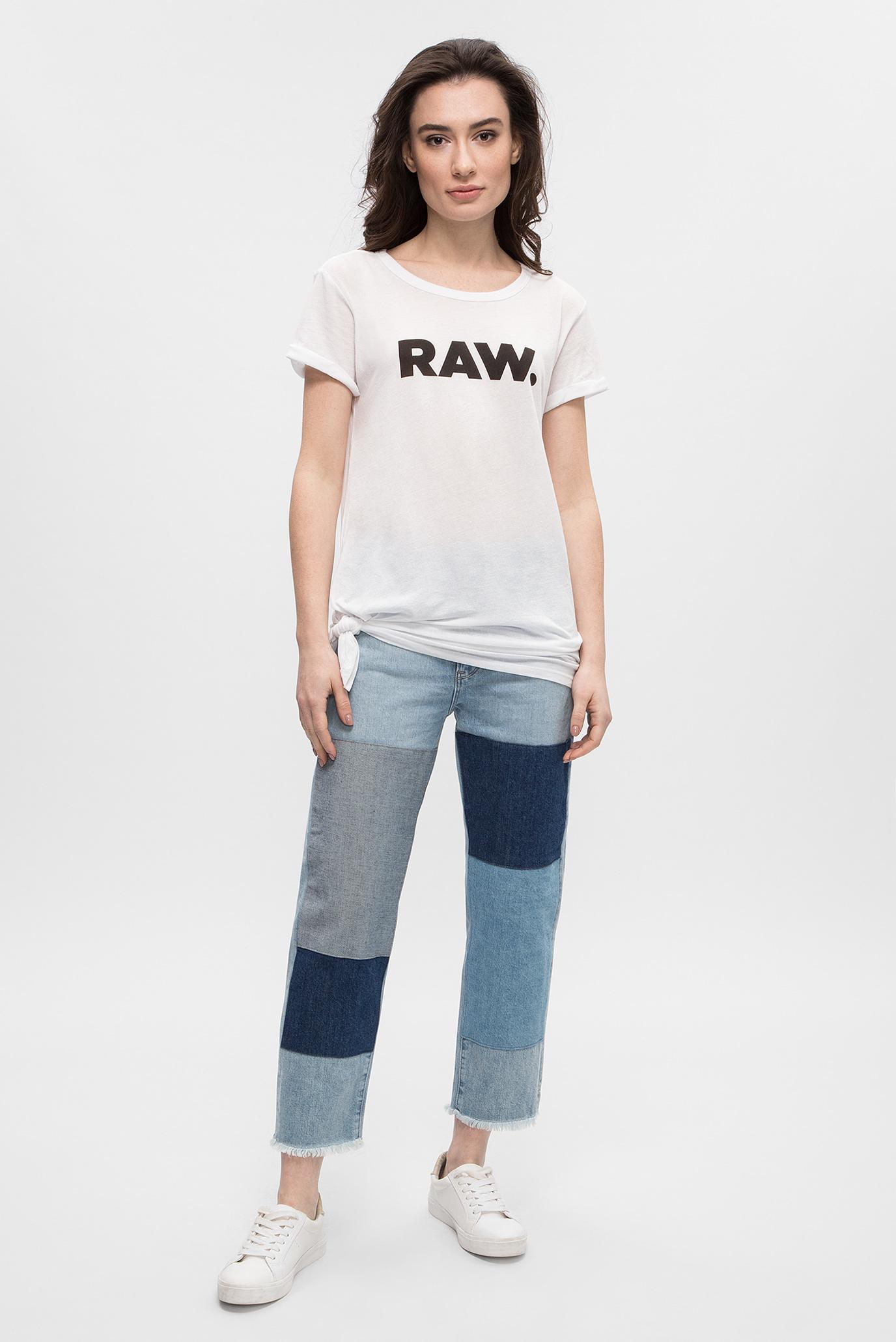 Купить Женские голубые джинсы 3301 Mid Boyfriend rp 7/8 G-Star RAW G-Star RAW D09373,7113 – Киев, Украина. Цены в интернет магазине MD Fashion