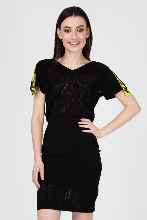 Женское черное платье M-PAMMY