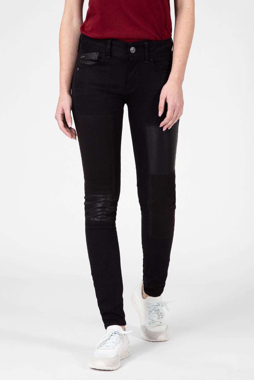 Женские черные джинсы LYNN