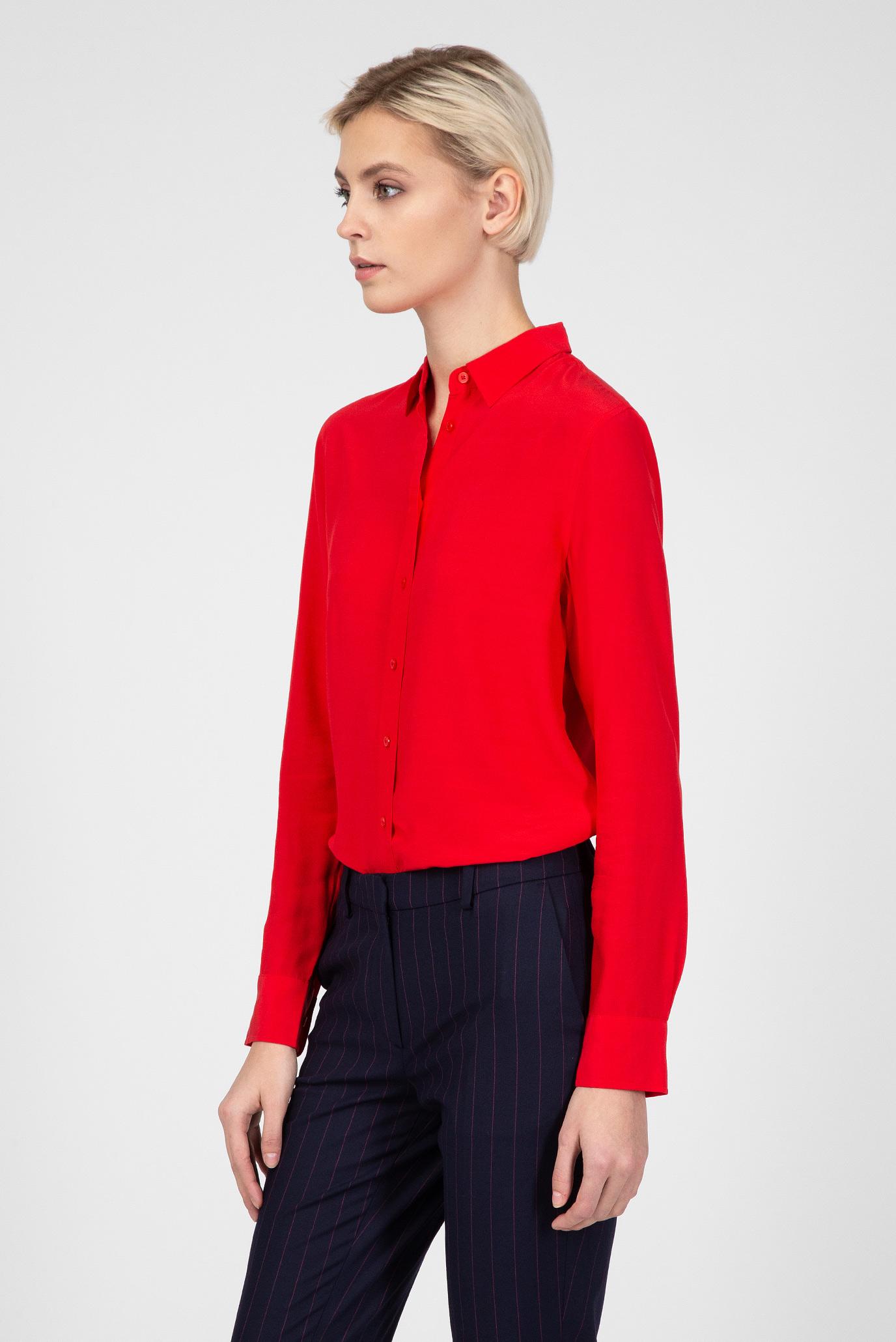 Купить Женская красная рубашка Gant Gant 4301060 – Киев, Украина. Цены в интернет магазине MD Fashion
