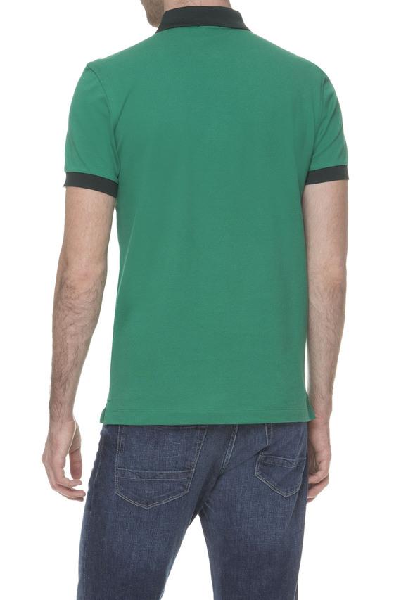 Мужское зеленое поло