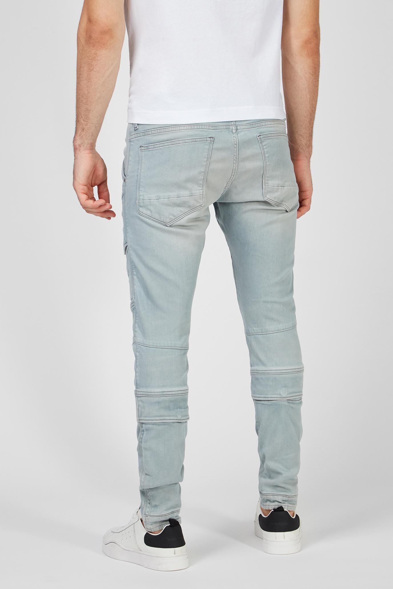 Мужские голубые джинсы Airblaze 3D Skinny G-Star RAW