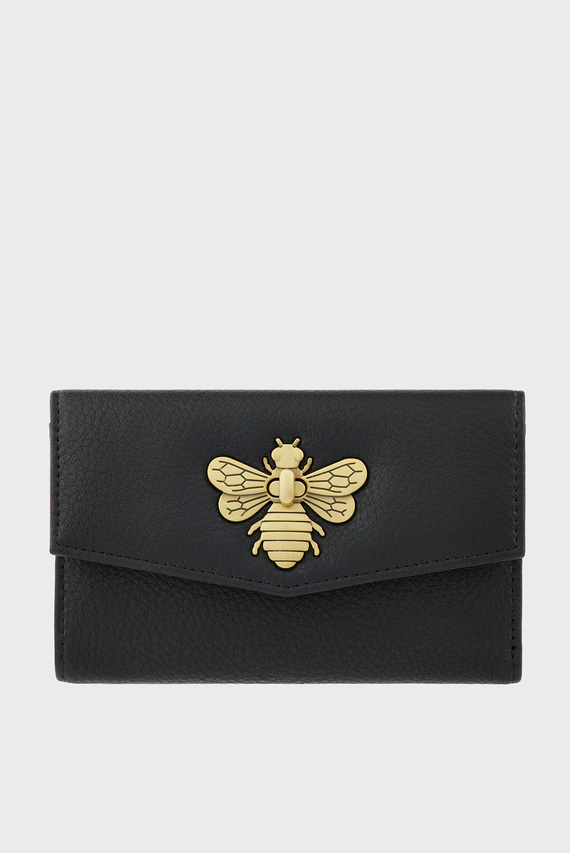 Женский черный кошелек BRITNEY BEE WALLET