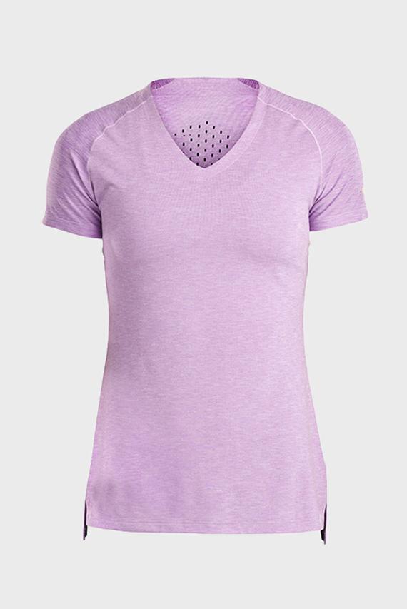 Женская сиреневая футболка BREAKTHRU