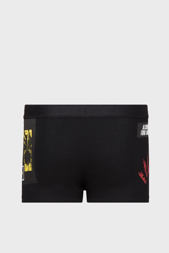 Мужские черные боксеры UMBX-DAMIEN
