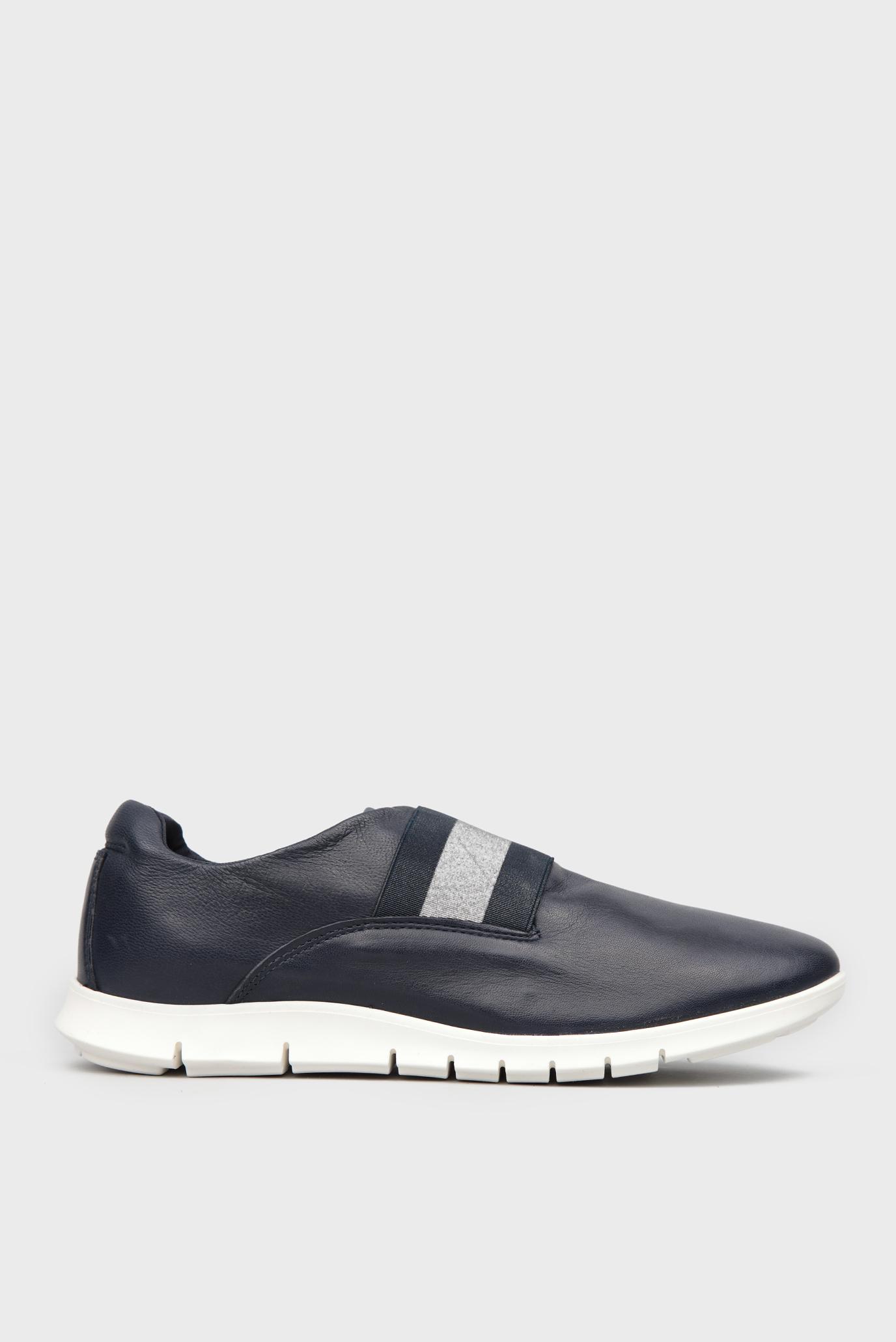 Купить Женские темно-синие кожаные кроссовки Tommy Hilfiger Tommy Hilfiger  FW0FW01407 – Киев 865dc93a9b7e0
