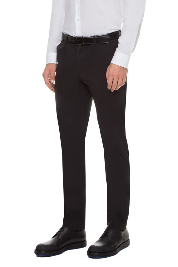 Мужские черные брюки
