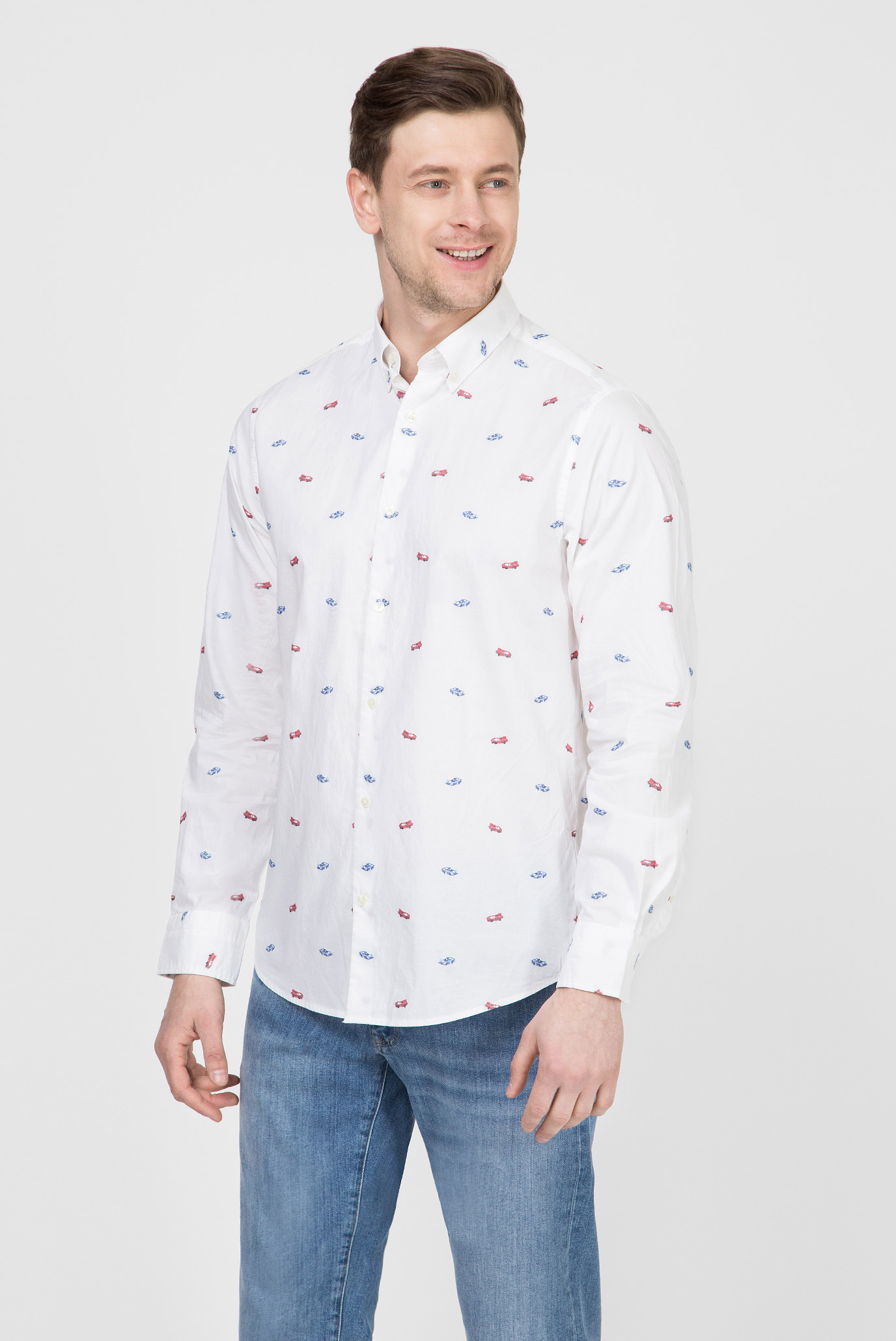 Купить Мужская белая рубашка LM Gant Gant 3016830 – Киев, Украина. Цены в интернет магазине MD Fashion