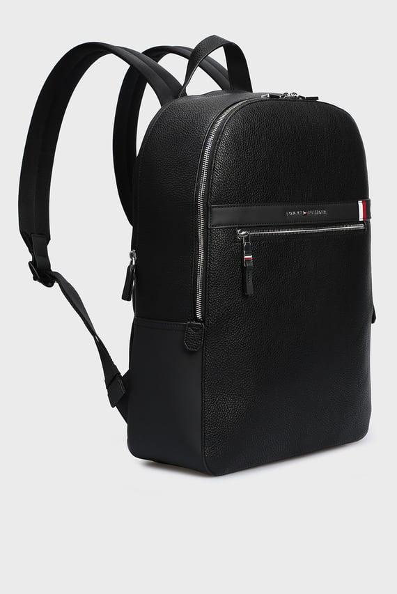 Мужской черный рюкзак TH DOWNTOWN