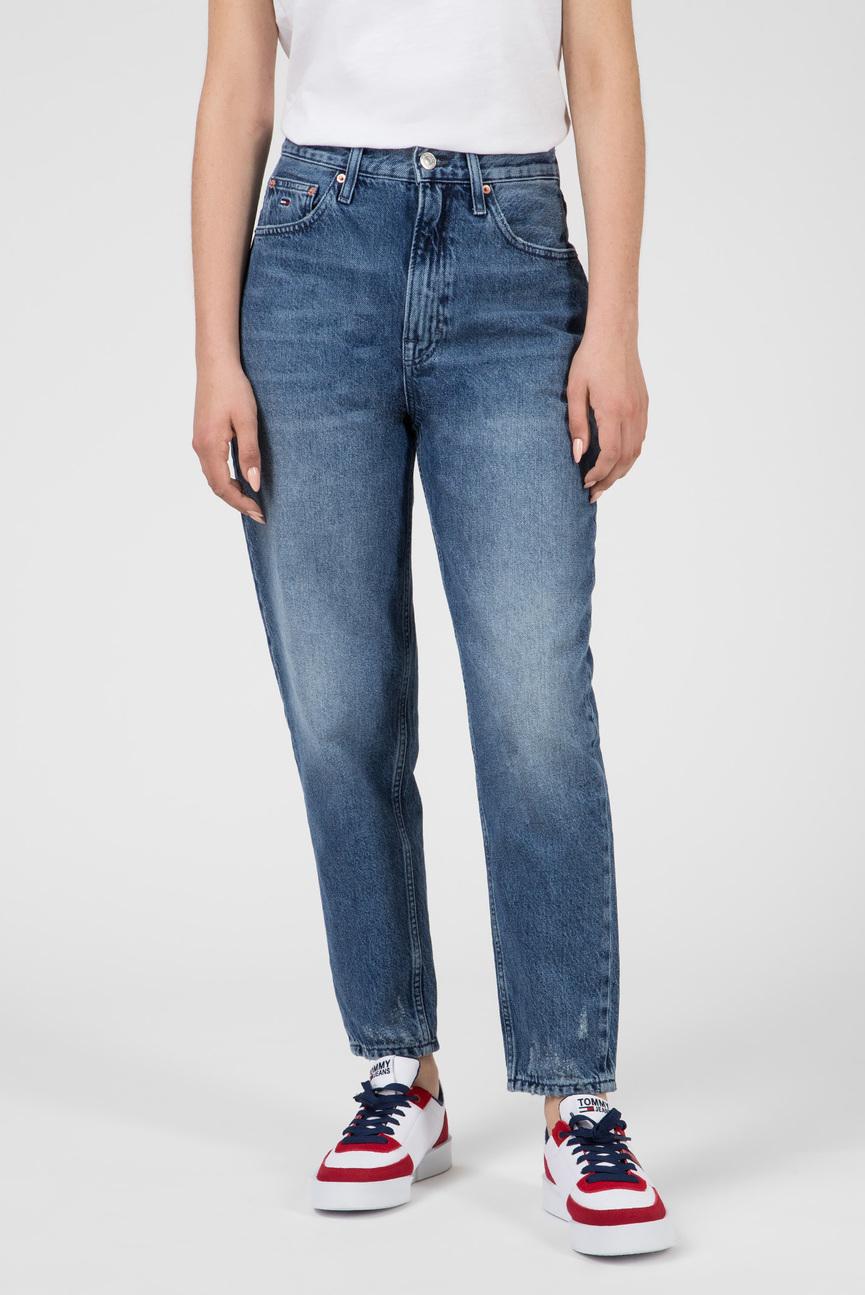 Женские синие джинсы HIGH RISE TAPERED TJ2004
