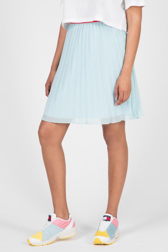 Женская голубая плиссированная юбка TJW PLEATED
