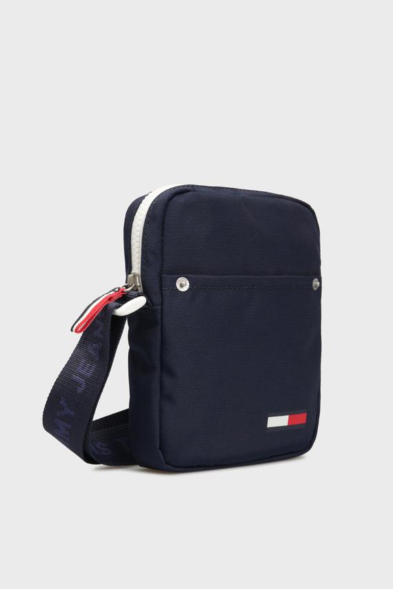 Мужская синяя сумка через плечо TJM COOL CITY MINI REPORTER