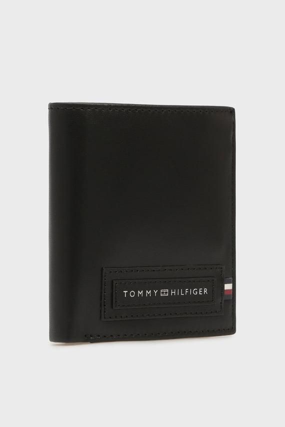 Мужской черный кожаный кошелек MODERN TALL NS TRIFOLD