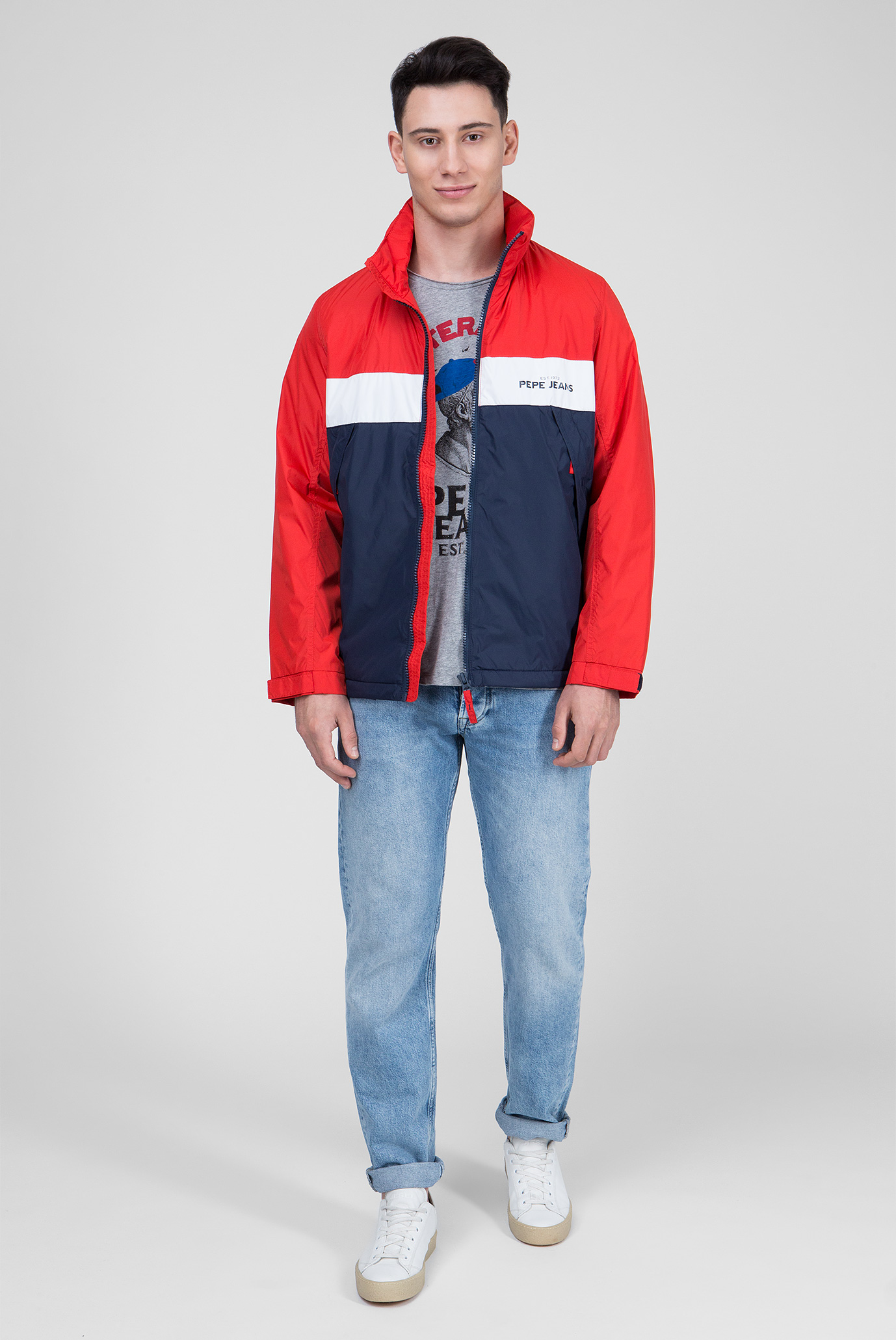 Купить Мужская красная куртка SAVAGE Pepe Jeans Pepe Jeans PM401921 – Киев, Украина. Цены в интернет магазине MD Fashion
