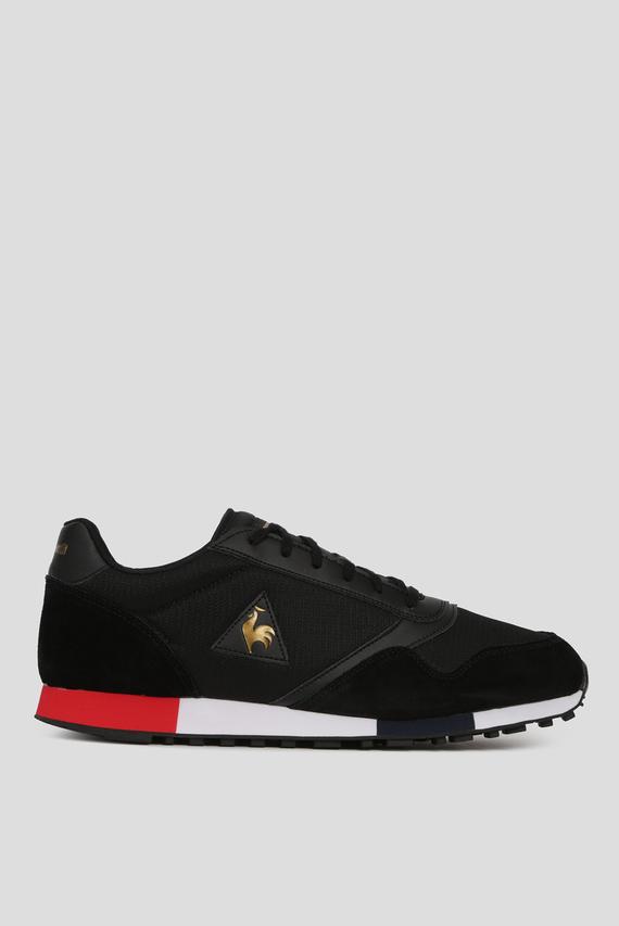 Мужские черные кроссовки DELTA METALLIC