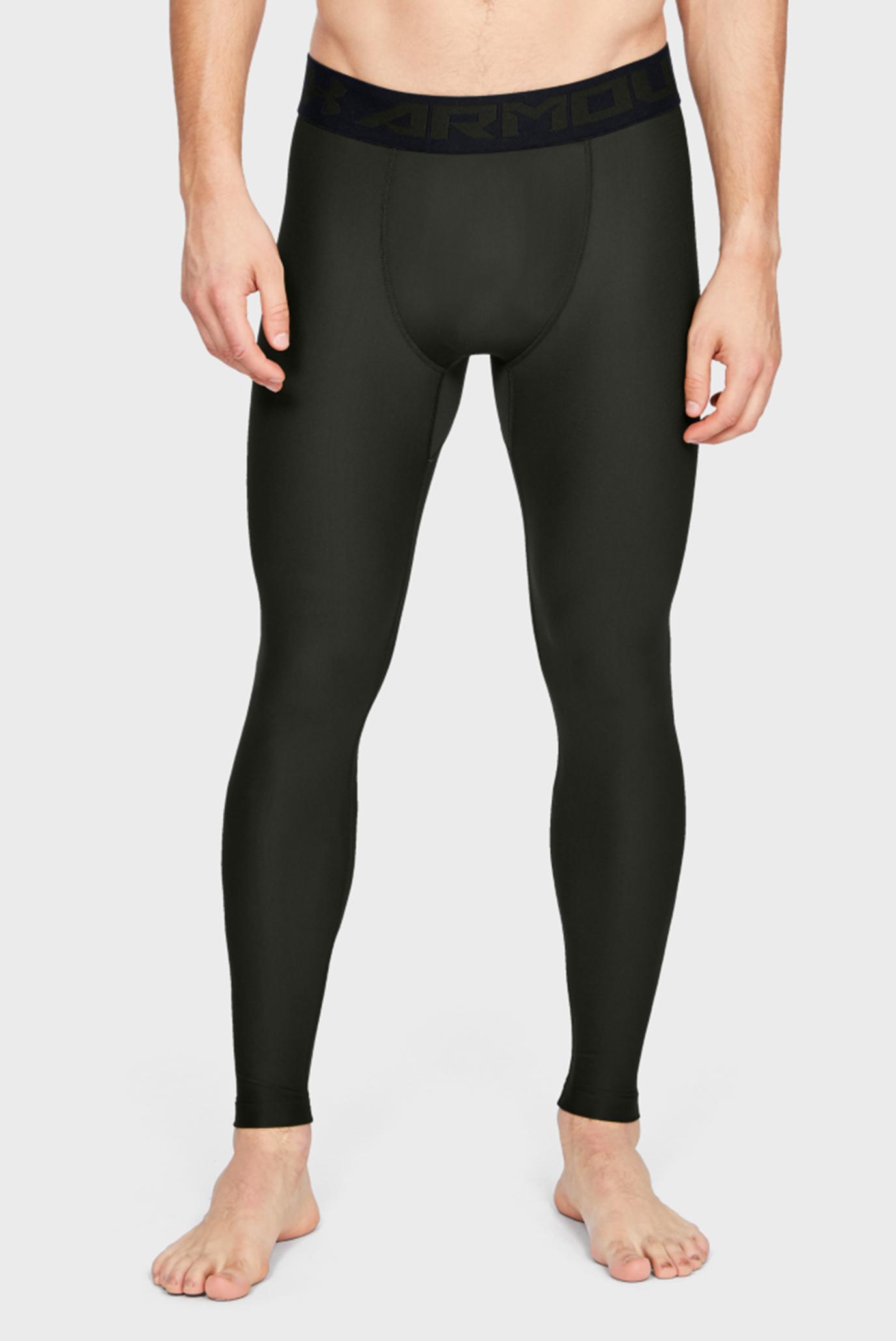 Купить Мужские темно-зеленые тайтсы HG ARMOUR 2.0 LEGGING Under Armour Under Armour 1289577-358 – Киев, Украина. Цены в интернет магазине MD Fashion
