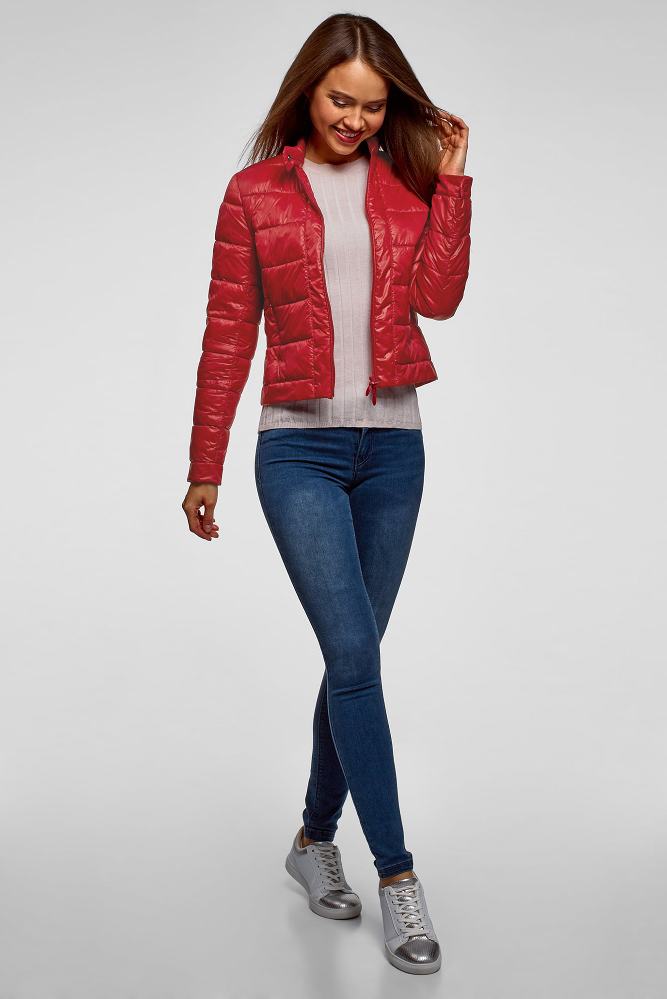 Купить Женская красная куртка Oodji Oodji 10203038-5B/33445/4504N – Киев, Украина. Цены в интернет магазине MD Fashion
